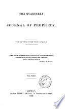 The Quarterly journal of prophecy