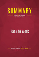 Summary: Back to Work