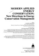 Modern Applied Energy Conservation Book