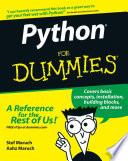 List of Dummies Python E-book