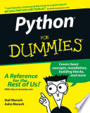 List of Dummies For Python E-book