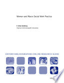 Women And Macro Social Work Practice Oxford Bibliographies Online Research Guide