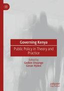 Governing Kenya