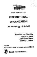 Basic Courses International Organization