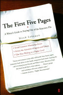 The First Five Pages Pdf/ePub eBook