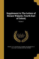 SUPPLEMENT TO THE LETTERS OF H