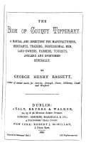 The Book of County Tipperary: A Manual and Directory for