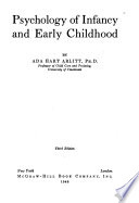 Psychology of Infancy and Early Childhood ...