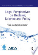 Legal Perspectives on Bridging Science and Policy