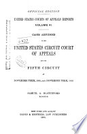 United States Courts of Appeals Reports Book