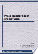 Phase Transformation And Diffusion Book PDF