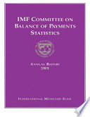 Imf Committee On Balance Of Payments Statistics Annual Report 2001 Epub