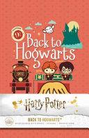 Harry Potter  Back to Hogwarts Hardcover Ruled Journal
