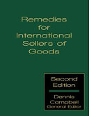 Remedies for International Sellers of Goods   Second Edition