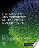 Fundamentals and Properties of Multifunctional Nanomaterials