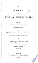 The Works of William Shakespeare  Troilus and Cressida   Coriolanus   Titus Andronicus   Romeo and Juliet   Timon of Athens