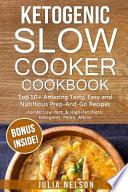Ketogenic Slowcooker Cookbook