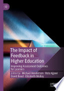 The Impact of Feedback in Higher Education Book