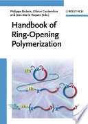 Handbook of Ring-Opening Polymerization