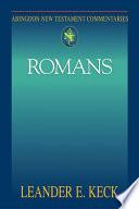 Abingdon New Testament Commentaries Romans