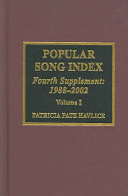 Popular Song Index Pdf/ePub eBook