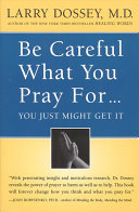 Be Careful What You Pray For, You Might Just Get It Pdf/ePub eBook