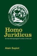 Homo Juridicus