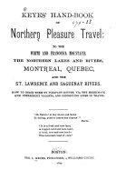 Keyes  Hand book of Northern Pleasure Travel