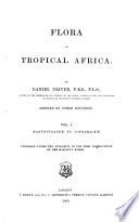 Flora of Tropical Africa  Ranunculaceae to Connaraceae