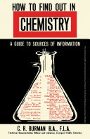 How to Find Out in Chemistry [Pdf/ePub] eBook