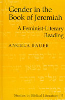 Gender in the Book of Jeremiah Book