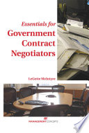 Essentials for Government Contract Negotiators