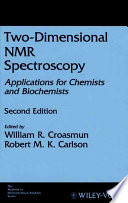 Two Dimensional Nmr Spectroscopy Book PDF