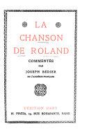 La chanson de Roland commentée par Joseph Bédier