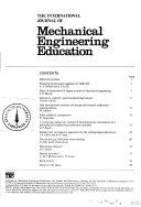 The International Journal of Mechanical Engineering Education