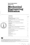 The International Journal of Mechanical Engineering Education