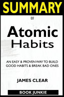 Summary Of Atomic Habits Book