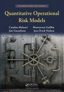 Quantitative Operational Risk Models Pdf/ePub eBook