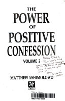 Power of Positive Confession Book