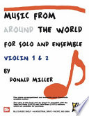 Music From Around The World   Solo   Ensemble Book