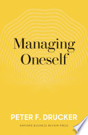 Managing Oneself Book