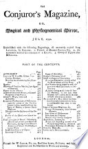 The Astrologer S Magazine And Philosophical Miscellany