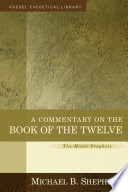A Commentary on the Book of the Twelve
