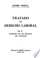 Tratado de derecho laboral: Derecho de los riesgos del trabajo