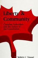 Liberty and Community