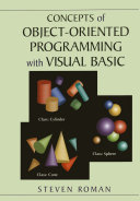 Concepts of Object Oriented Programming with Visual Basic