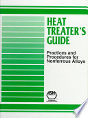 Heat Treater s Guide Book