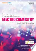 Proceedings of 4th International Conference on Electrochemistry 2018