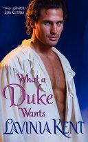 What a Duke Wants Pdf/ePub eBook