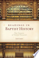 Readings in Baptist History Book